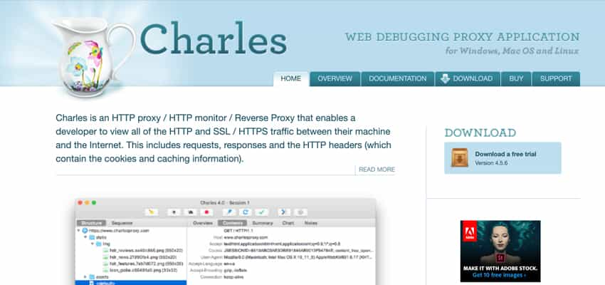 Charles Web Proxy For Mac OS X 4.5.6 破解版 [TNT]