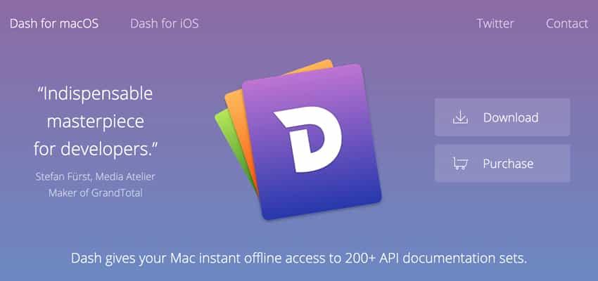 Dash For Mac OS X 5.1.0 破解版 [TNT]