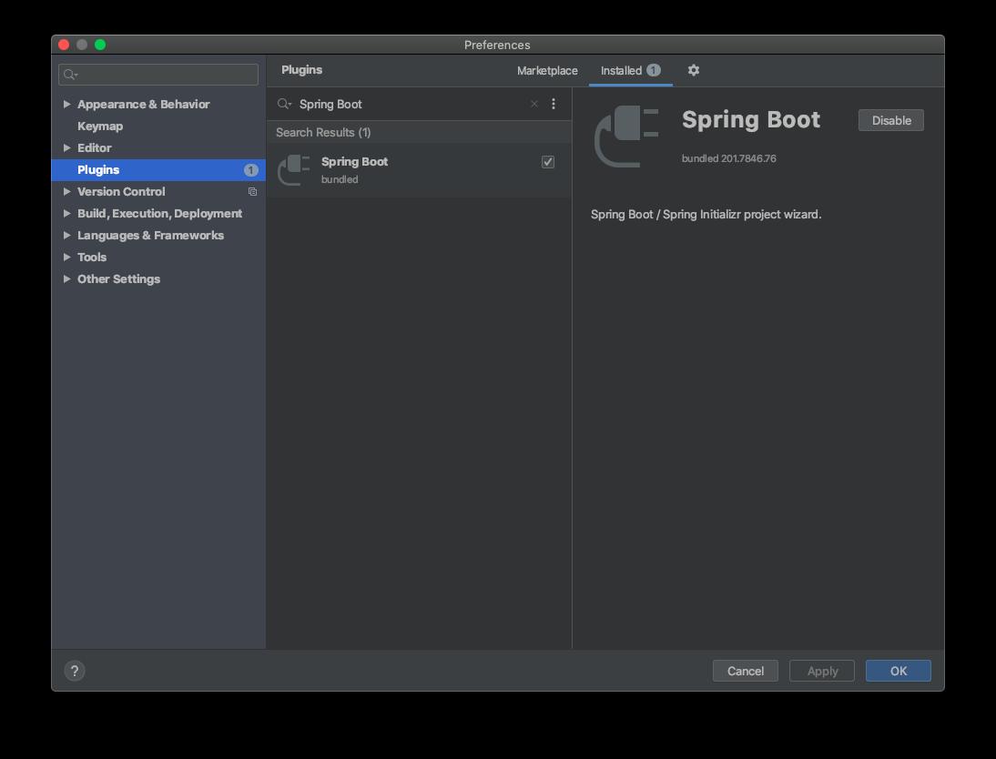 Spring Boot 插件