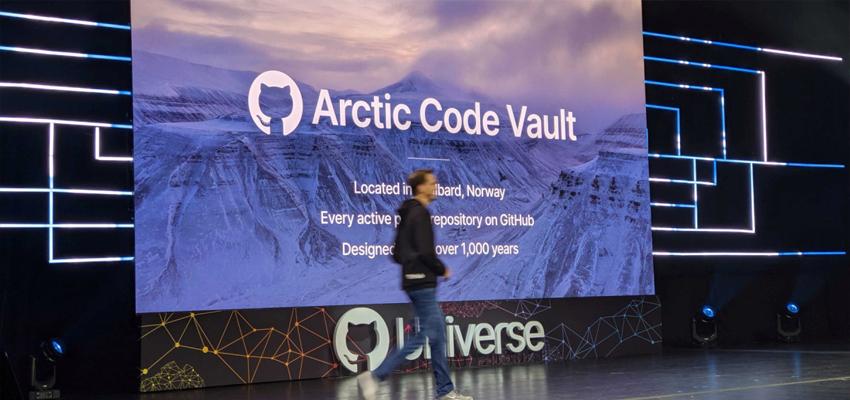 GitHub出现Arctic Code Vault Contributor徽章 千年代码保存计划