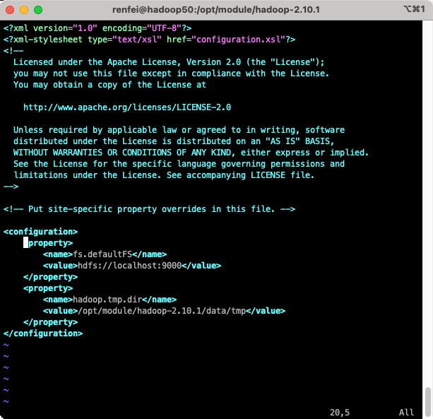 Hadoop配置文件