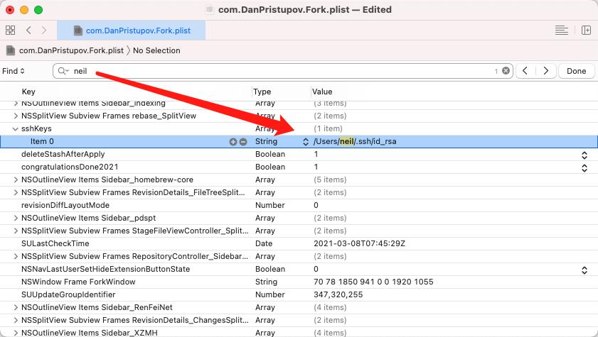 修改plist配置文件